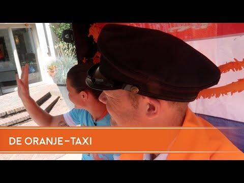 De Oranje-taxi met Sherida Spitse