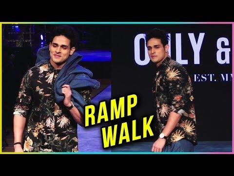 Priyank Sharma Ramp Walk 2018 | FIRST TIME Show St