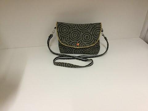 Coudre un petit sac à bandoulière - Tuto Couture Madalena