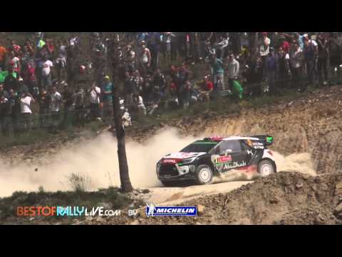 Vídeo 2ª jornada WRC Rallye de Portugal 2015, Latvala líder provisional