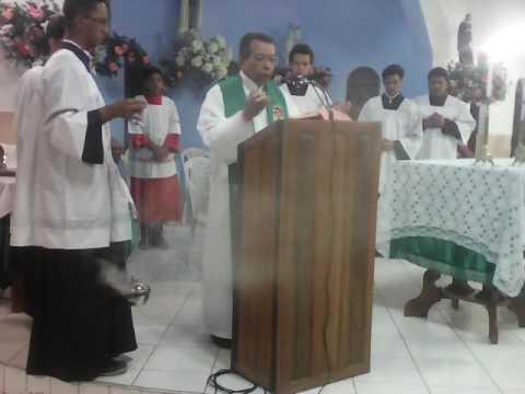 Missa na capela de Santa Terezinha em Barbalha
