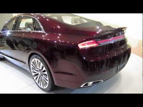 Lincoln  2013 LINCOLN MKZ CONCEPT - 2012 Detroit Auto Show