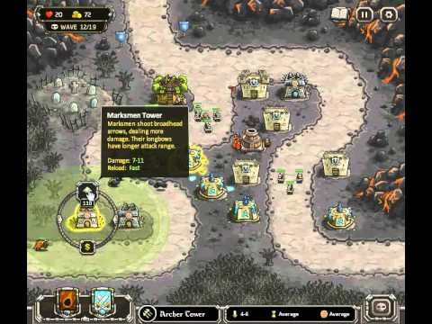Kingdom Rush Walkthrough Level 10
