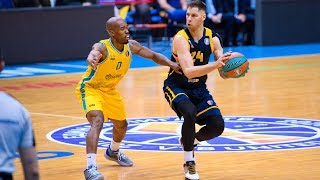 Hightlits of the match — VTB United league: «Astana» vs «Khimki»