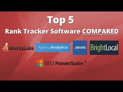 Top 5 Keyword Rank Tracker Software Comparison Review