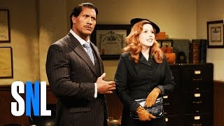 A surprising occurrence disrupts the filming of a scene between Janet Charmpagne (Vanessa Bayer) and Brock Tenderson (Dwayne Johnson).Get more SNL: http://www.nbc.com/saturday-night-liveFull Episodes: http://www.nbc.com/saturday-night-liv...Like SNL: https://www.facebook.com/snlFollow SNL: https://twitter.com/nbcsnlSNL Tumblr: http://nbcsnl.tumblr.com/SNL Instagram: http://instagram.com/nbcsnl SNL Pinterest: http://www.pinterest.com/nbcsnl/