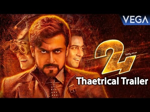 24 Telugu Movie Trailer HD - Suriya, Samantha