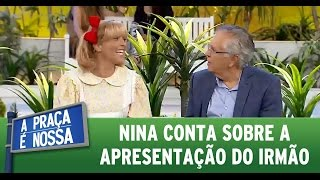 Nonton A Pra  A    Nossa  31 03 16  Nina Fala Sobre Apresenta    O Do Irm  O Film Subtitle Indonesia Streaming Movie Download