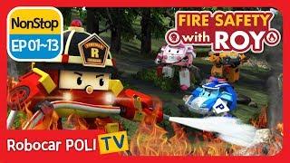 Video 🔥Fire safety with Roy | EP01 - 13 | Robocar POLI | Kids animation MP3, 3GP, MP4, WEBM, AVI, FLV Oktober 2018