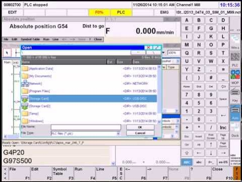 Замена PLC на системе NCT201