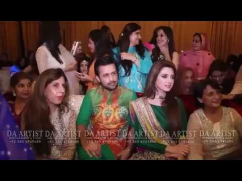 Video atif aslam & his wife on zoheb and zahra's wedding download in MP3, 3GP, MP4, WEBM, AVI, FLV January 2017