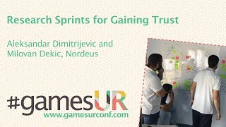 Research Sprints for Gaining Trust
