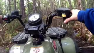 1. Mudding with 2005 Polaris Magnum 330!!!!! First Ride!!!