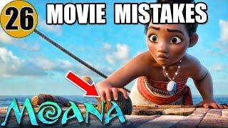 Video 26 Mistakes of MOANA You Didn't Notice MP3, 3GP, MP4, WEBM, AVI, FLV Februari 2019