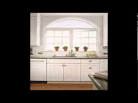 , title : 'White Beadboard Kitchen Cabinets'