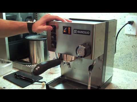 Backflushing the Rancilio Silvia