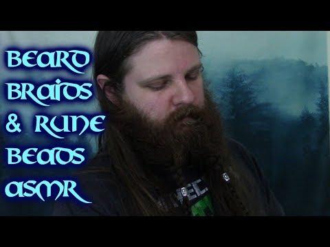 Beard styles - ASMR Whispering with Beard Braids and Rune Beads