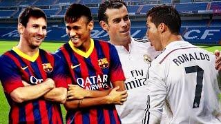 Messi & Neymar VS Ronaldo & Bale, neymar, neymar Barcelona,  Barcelona, chung ket cup c1, Barcelona juventus