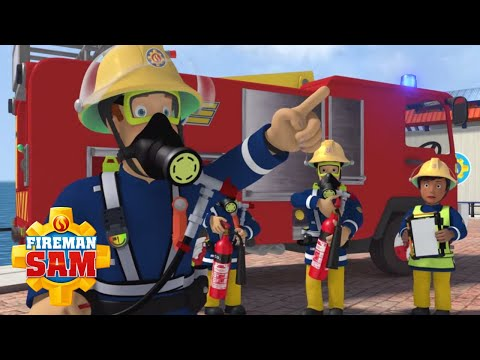 Fireman Sam Official | We Have to Rescue the Cafe! | Jupiter in Action | Cartoons