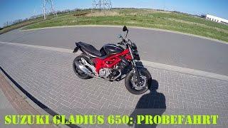 8. Suzuki SFV 650 Gladius: Kurze Probefahrt mit der 48-PS-Version (Deutsch) | Piotrrr Moto