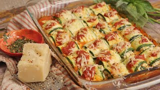 Zucchini Rollatini by Laura in the Kitchen
