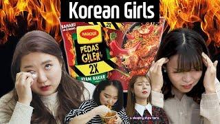 Video Korean girls try Pedas Giler 2X l KPOP Quiz l Blimey MP3, 3GP, MP4, WEBM, AVI, FLV April 2019
