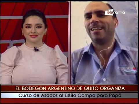 El Bodegón Argentino de Quito organiza cursos de asados al estilo campo para papá