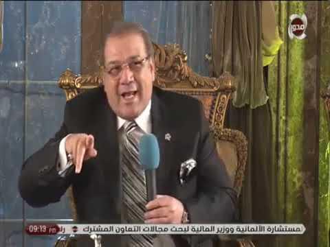 حوار مع د هشام عرفات وزير النقل في صالون المحور 11 1 2019