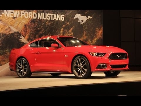 Remodeled Ford Mustang reveal (youtube)