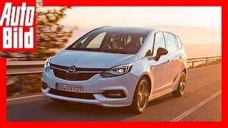 Zafira wird zur rollenden Lounge / Neuvorstellung / Opel Zafira Tourer 2.0 CDTI (2016) by Auto Bild