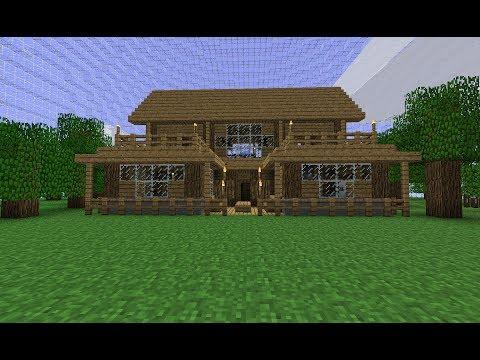 comment construire une belle et grande maison dans minecraft la r ponse est sur. Black Bedroom Furniture Sets. Home Design Ideas