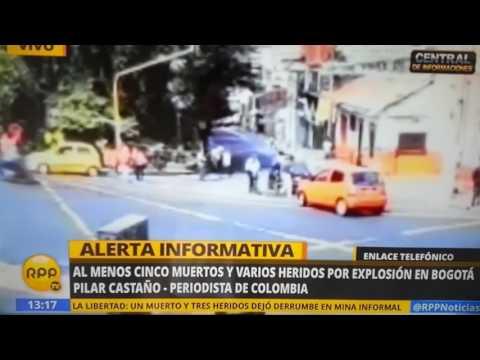 انفجار قوي يهز حلبة للمصارعة بكولومبيا
