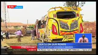 CheckPoint: Four feared dead after a Rongai matatu overturns on Langata Road, September 25th 2016