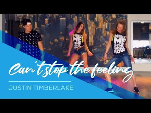 Video Can't stop the feeling - Justin Timberlake - Easy Fitness Dance Choreography download in MP3, 3GP, MP4, WEBM, AVI, FLV January 2017