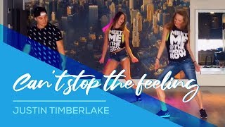 Video Can't stop the feeling - Justin Timberlake - Easy Fitness Dance Choreography MP3, 3GP, MP4, WEBM, AVI, FLV September 2017