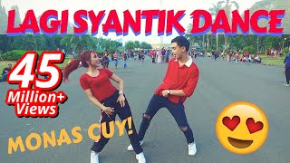 Video LAGI SYANTIK DANCE IN PUBLIC by Natya & Rendy  | Choreo by Natya Shina MP3, 3GP, MP4, WEBM, AVI, FLV Juli 2018