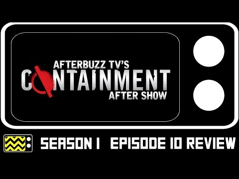 Containment Season 1 Episode 10 Review W/Claudia Black | AfterBuzz TV