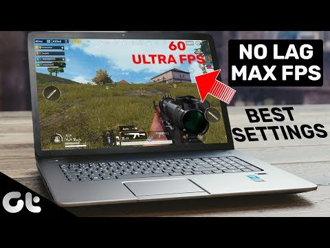 PUBG Mobile Emulator BEST Settings For Computer | NO LAG | MAXIMUM FPS | GT Gaming