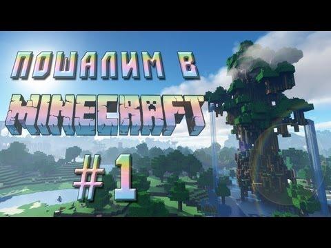 Пошалим в Minecraft #1 - Барашкииии!