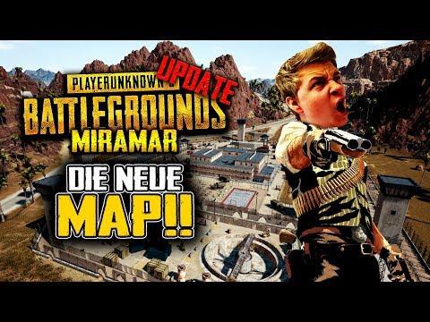 Playerunknowns Battlegrounds Desert Update - Neue Map! Neue Waffen! Neue Autos! GEIL! - PUBG Patch