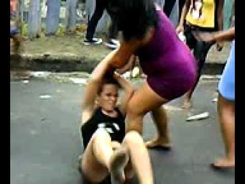 Pelea de dos chicas