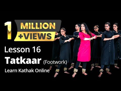 Tatkaar (Footwork) Teental - Ekgun, Dugun and Chaugun | Basic Dance Steps | Lesson 16/222