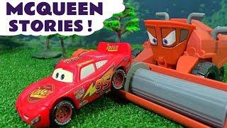 Video Disney Cars Toys McQueen Toy Stories with Superhero Batman Joker and Hot Wheels Sets for kids TT4U MP3, 3GP, MP4, WEBM, AVI, FLV Desember 2017