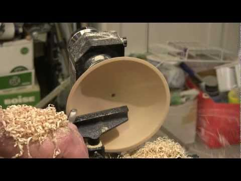 Candy Dish Turning Video Tutor: NewWoodworker