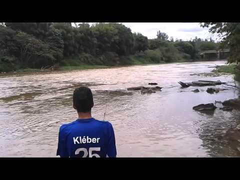 pesca de Dourado de 10KG no paraopeba em vianopoli