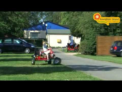 Rosenfelder Strand Ostsee Camping Video