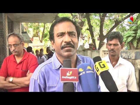 Charle, S.P.Muthuraman, Ramesh Khanna at V.S.Raghavan Death | Funeral Video