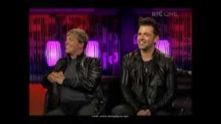 Westlife on The Saturday Night Show pt 2