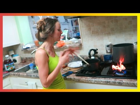 HOW TO SET YOUR KITCHEN ON FIRE!