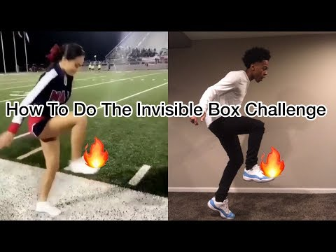 How To Step On Air ( Invisible Box Dance Tutorial )